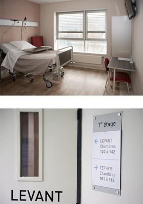 Chambre | Clinique Trénel - Lyon