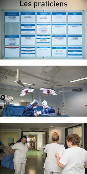 Equipes médicales