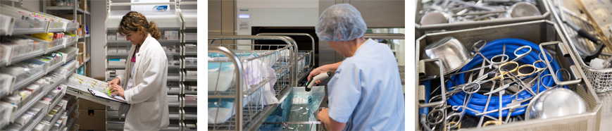 Pharmacie Stérilisation
